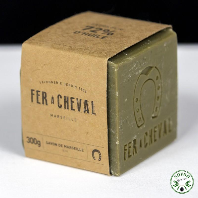 savon de marseille cube 300g huile d 39 olive fer cheval