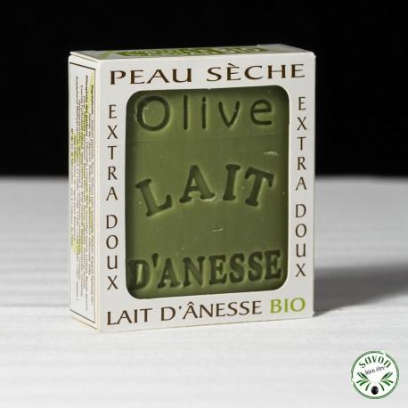 Savon au lait d'ânesse Bio - Huile d'Olive