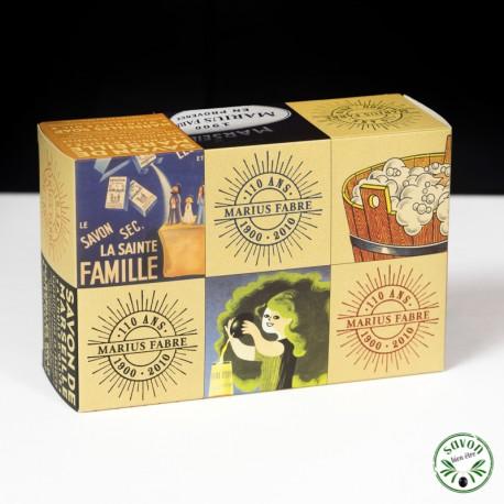 Coffret Collector Savon de Marseille - 6 x200 g - Marius Fabre