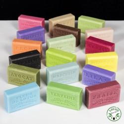 Pack 15 savons de Provence à l'huile d'argan - 70 senteurs aux choix