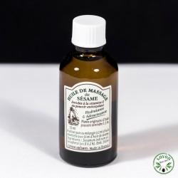Huile de Sésame - huile de massage - 50 ml