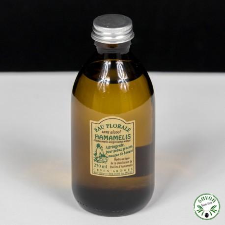 Eau florale sans alcool d'hamamélis - 250 ml