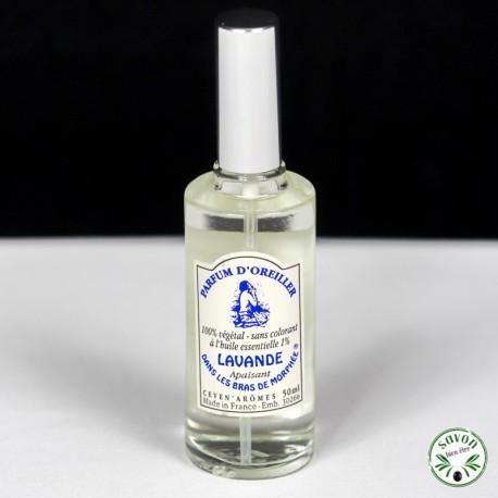 Parfum d'oreiller à l'huile essentielle de Lavande - Vaporisateur 50 ml