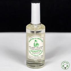 Parfum d'oreiller à l'huile essentielle d'Eucalyptus - Vaporisateur 50 ml