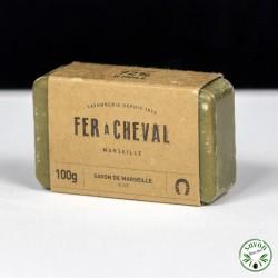 Savon de Marseille - Savonnette 100g Olive - Fer à Cheval