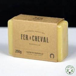 Savon de Marseille - Savonnette 250g Végétal - Fer à Cheval