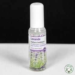 Parfum d'ambiance aux huiles essentielles - Lavande