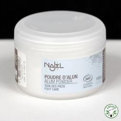 Pierre d'Alun en poudre Najel - 150 gr