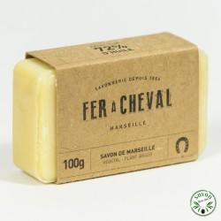 Savon de Marseille - Savonnette 100g Végétal - Fer à Cheval
