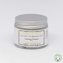 Crème de jour au lait d'ânesse bio