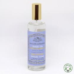 Parfum d'ambiance Coton Lin - Plaisir des Sens - 100 ml