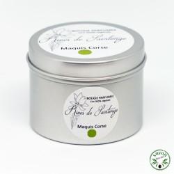Bougie parfumée Maquis Corse 100% naturelle