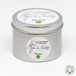 Bougie parfumée Thé vert 100% naturelle