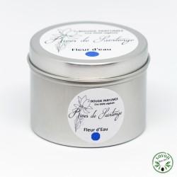 Bougie parfumée Fleur d'eau 100% naturelle