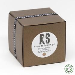 Bougie parfumée Bois de Santal 100% naturelle