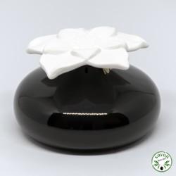 Diffuseur de parfum par capillarité en céramique avec sa fleur