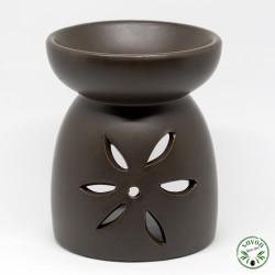 Brûle-parfum diffuseur d'arômes en céramique.