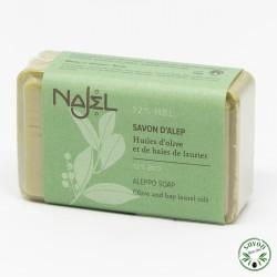 Savonnette d'Alep Najel 12% huile baie laurier 100 g