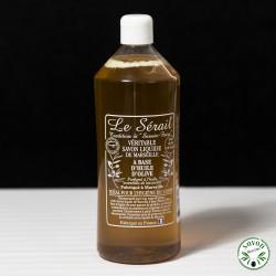 Savon liquide de Marseille sans huile de palme - Le Sérial 1L