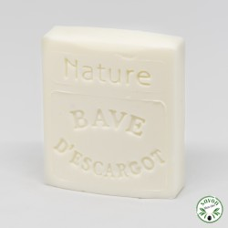 Savon au Mucus ou Bave d'Escargot - Nature - 100 g