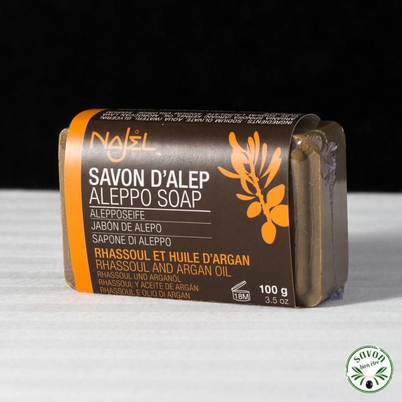 savon d'alep a l'huile d'argan