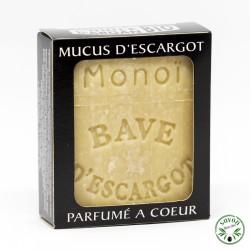 Savon au mucus ou bave d'escargot - Monoï - 100 g