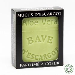 Savon au mucus ou bave d'escargot - Aloé véra- 100 g