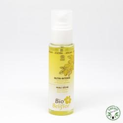 Huile sèche bio Nutri-Intense Beliflor spécial cheveux secs