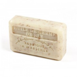 Savon huile de Germe de Blé enrichi au beurre de karité bio - 125g