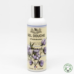 Gel douche à l'huile de coton - 200 ml