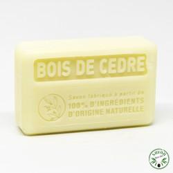 Savon Bois de cèdre à l'huile d'olive, beurre de karité bio