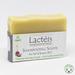 Shampoing solide bio - cheveux normaux à gras - 100 gr