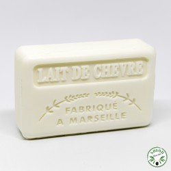Savon parfumé - Lait de chèvre -  enrichi au beurre de karité bio - 125g
