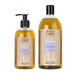Pack savon liquide de Marseille - lavande - Marius Fabre