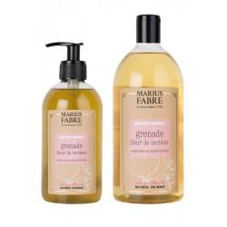 Pack savon liquide de Marseille - grenade et fleur cerisier - Marius Fabre