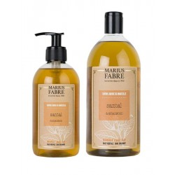 Pack savon liquide de Marseille - santal - Marius Fabre