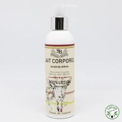 Lait corporel au lait de chèvre bio - 200 ml