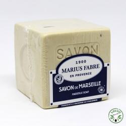 Savon de Marseille - huiles végétales - sans huile de palme - Marius Fabre