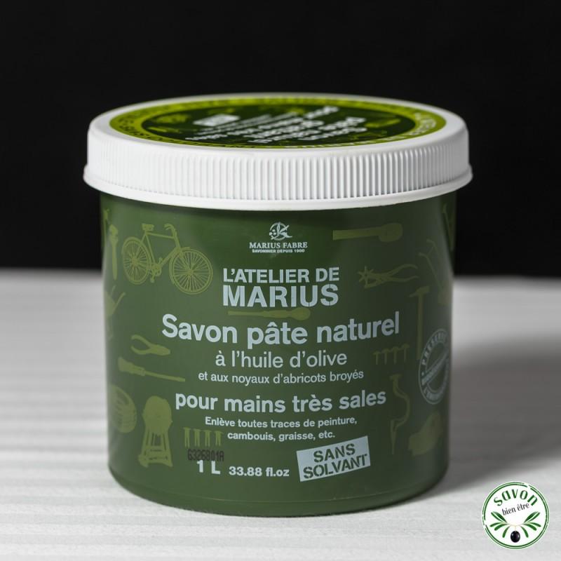 Savon p te naturel huile d 39 olive et noyaux d 39 abricots broy s - Anti puceron naturel huile d olive ...