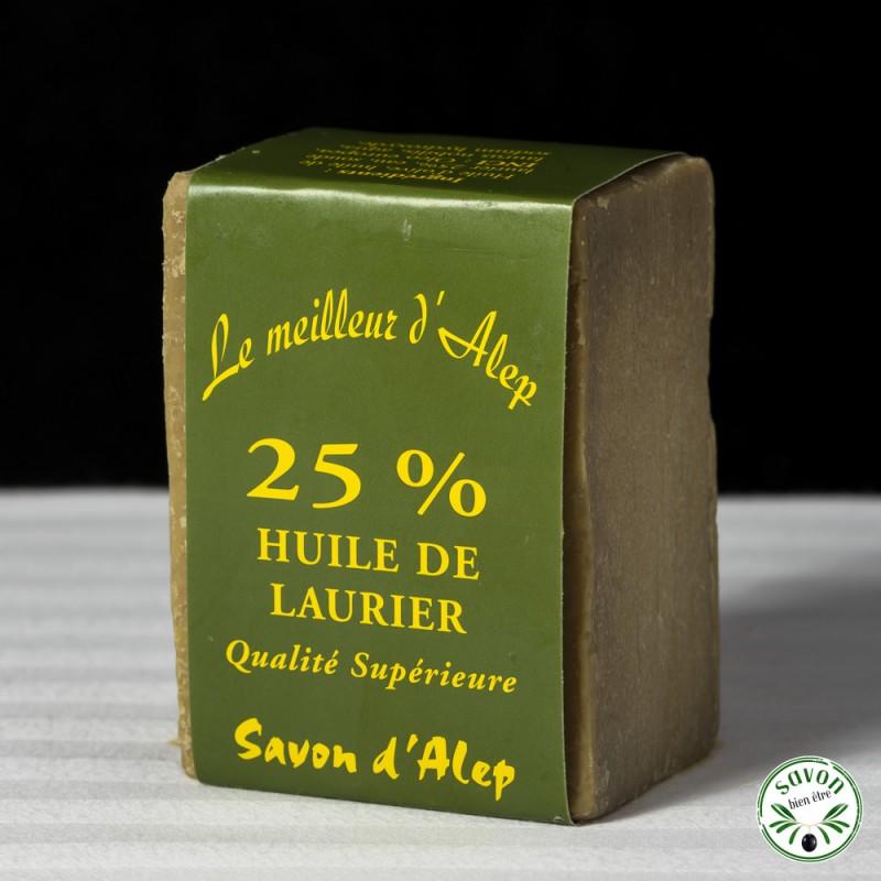 savon d'alep 25