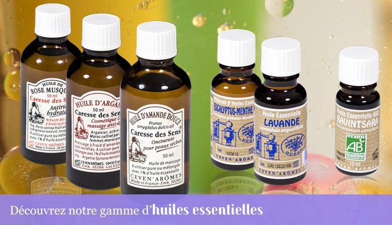 Notre gamme huiles essentielles