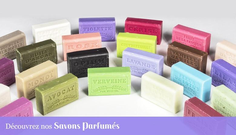 Découvrez toutes les saveurs des Savons parfumés